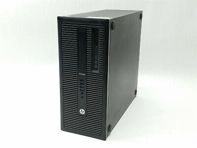 HP ProDesk 600 G1 TWR Intel Core i3-4160 3.6GHz 4GB 500GB Desktop Computer PC segunda mano  Embacar hacia Mexico