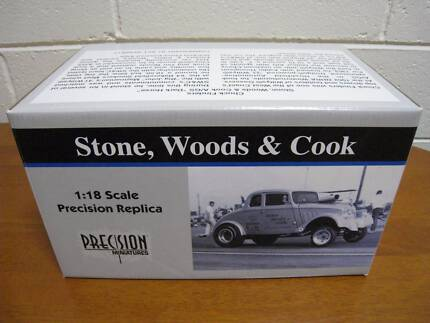 1933 Willys Gasser Stone Woods & Cook 1/18 Model car Footscray Maribyrnong Area Preview