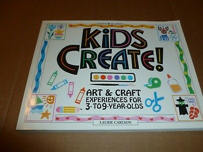 Kids Can book Kids Create, Art and Craft book Homeschool for 3-9 year olds  - Bible Crafts For Kids