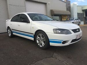 2006 Ford Falcon Sedan bf mk 11 lpg low ks, rego and rwc Springwood Logan Area Preview