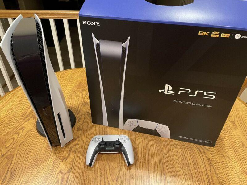 Sony Ps5 Digital Edition Version