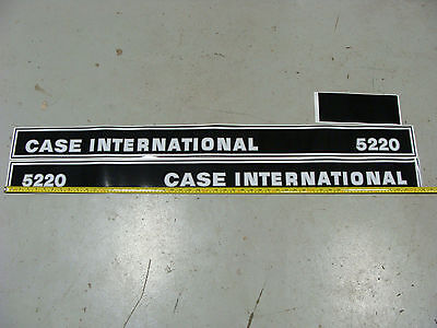 New 5220 Case International Tractor Hood Decal Kit 5220 High Quality Decals