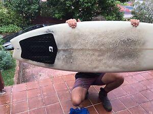 "Surfboard Shortboard Fish 6'0"" Cremorne North Sydney Area Preview"