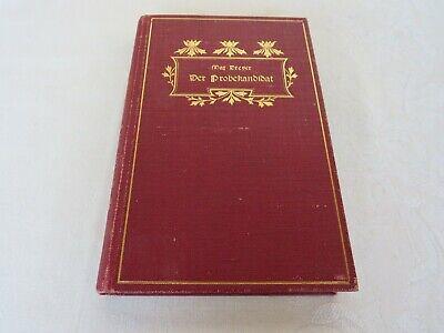 Vier, Meyers (Der Probekandidat-Drama in vier Aufzügen von MAX DREYER-Verlag G. H. Meyer 1900)