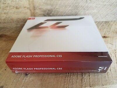 New Adobe Flash Professional Cs5 Creative Suite 5 Windows Registration Capable