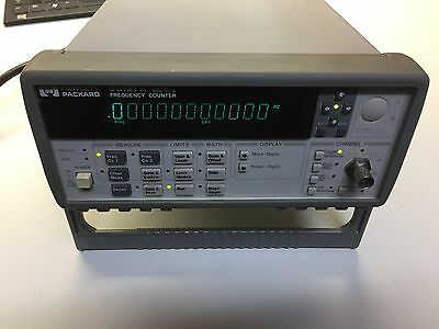 Agilent Keysight Hp 53181a Frequency Counter 225 Mhz
