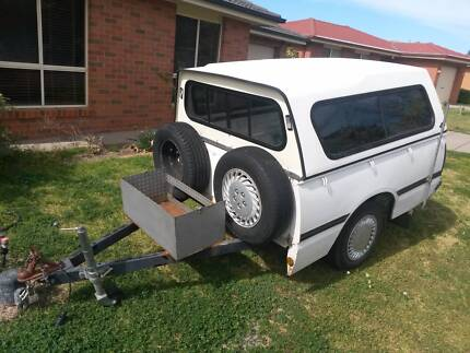 TUB (UTE) CAMPING TRAILER, FIBRE GLASS CANOPY, REG JUL 2016, KEYS Glenfield Park Wagga Wagga City Preview