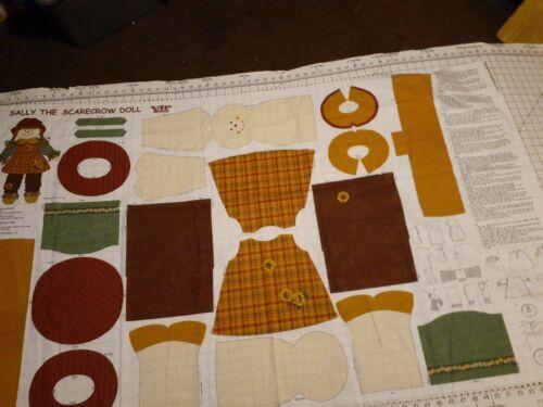 VIP Cranston Sally The Scarecrow Doll Fabric  - $5.00