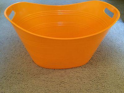 NEW Gator Orange Round Plastic Party Tub 21