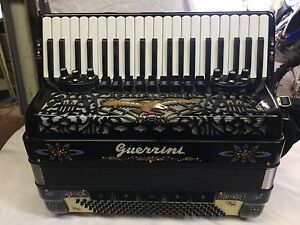 Guerrini special model brand new  piano accordion Profettional Bondi Eastern Suburbs Preview
