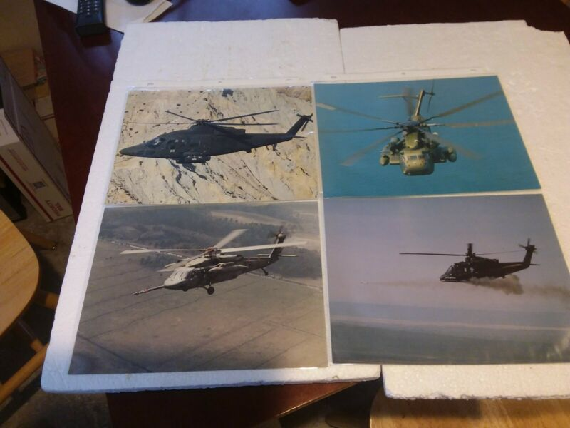 U.S. AIRFORCE HELICOPTER PHOTOGRAPHS