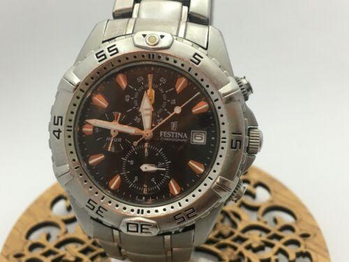 Festina  Men's Watch  F16169  Silver Stainless-Steel Quartz Watch