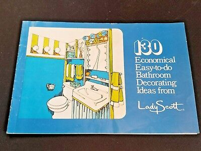 VNTG 1960's 130 Economical Easy-to-do Bathroom Decorating Ideas from Lady Scott](1960s Decorating Ideas)