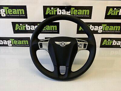 Bentley Continental GT Steering Wheel, Genuine OEM, Complete with Airbag & Loom