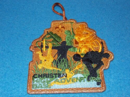 Christen High  Adventure Base (SBR) Boy Scout Patch - MINT