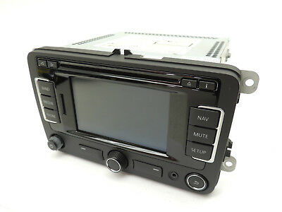 Mk6 Vw Jetta Gli RNS 315 6 Disc Cd Player Navigation Nav Radio Factory Oem -812
