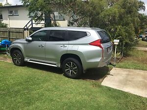 2016 Pajero sport with towbar & electric braking system Mitchelton Brisbane North West Preview
