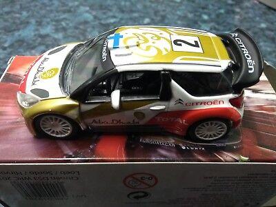 Citroen DS3 WRC Loeb rallye de France 2013 ds3 des records  norev 1//43