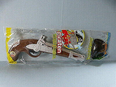 15445. Spielzeug Piraten Wasserpistole + Augenklappe  Benjamin Blümchen