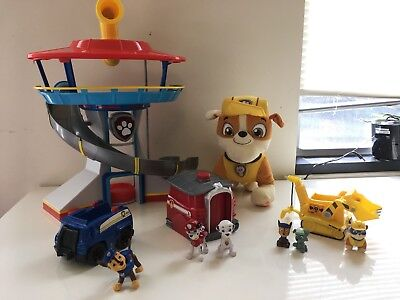 Paw Patrol Lot    Lookout Tower   Marshall Hero   Rubble Talking   More