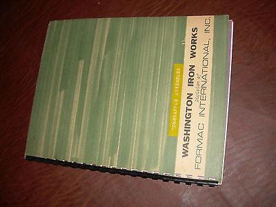Washington Skylok Yarder Trackloader Ton Grapple Parts Manual Drawings