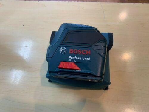 Bosch Professional GLL 50 Self Leveling Cross-Line Laser