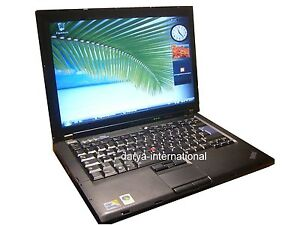 Lenovo  IBM T400 Core 2 Duo P8600  2,4Ghz 160GB 1440 x 900 Win Vista BS