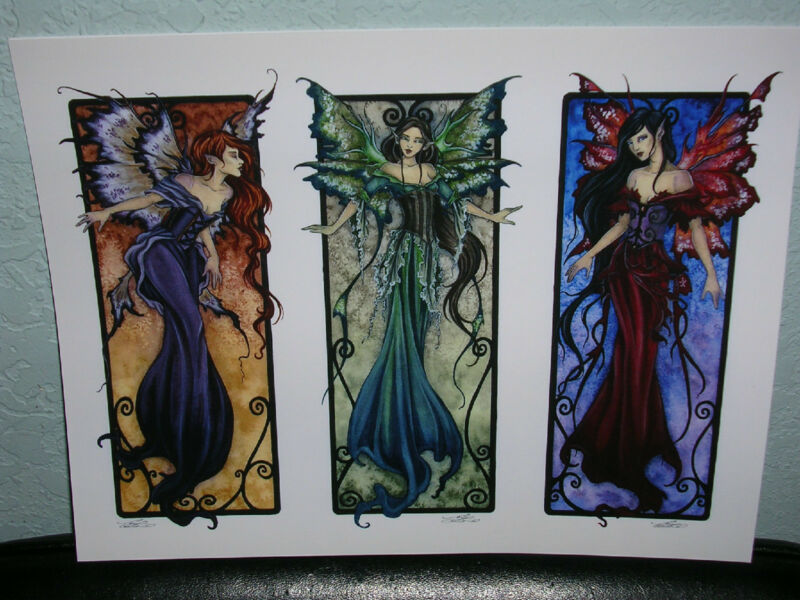 Amy Brown - Faery Panel II - OUT OF PRINT