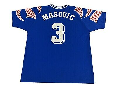Vintage Reebok Russia World Cup 1994 Soccer Jersey Masovic #3 Ussr Moscow Large image