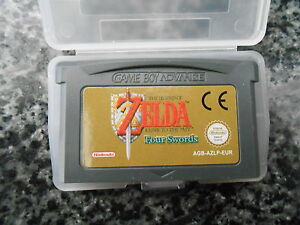 Legend Of Zelda A Link To The Past / Four Swords - Nintendo Gameboy Advance PAL