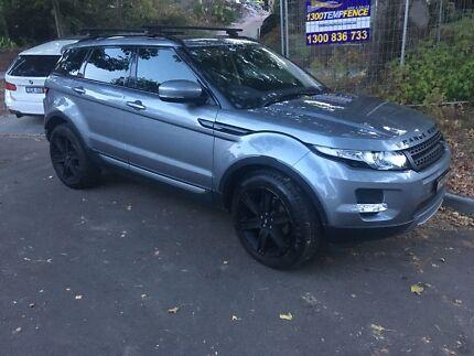 Range Rover Evoque Wheels & Tyres