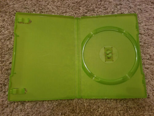 Original Microsoft XBOX Green Empty Replacement Game Case OEM