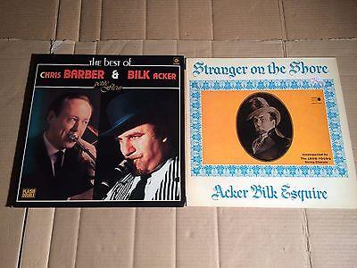 ACKER BILK & CHRIS BARBER - BEST OF + ACKER BILK - STRANGER ON THE SHORE - 3 LP