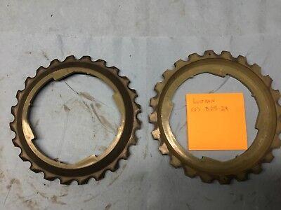 John Deere Lustran Planter Plates Discs For Corn B25 - 24 Small Round 24 Cell