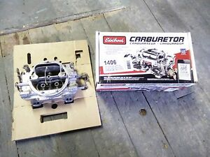 Edelbrock 1406 4 barrel carburetor