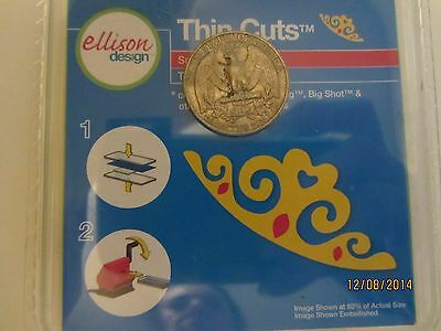 NEW Ellison SIZZIX Thin Cuts TIARA Die SCRAPBOOK