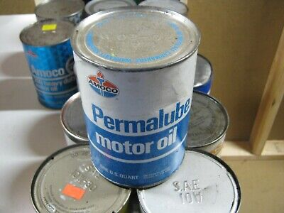 VINTAGE OIL CAN COLLECTION SELL OUT FREE SHIPPING Amoco #3