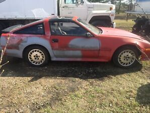 1986 Nissan zx 300 turbo charged 5spd t-top