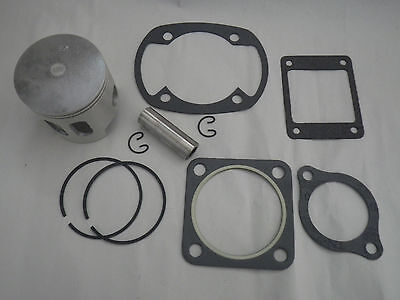 Yamaha G1 2-Cycle Gas Golf Cart Top End Piston Kit w/ Gaskets .50 mm Oversize