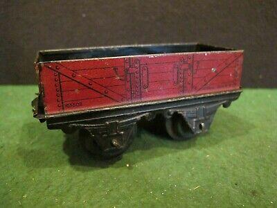PREWAR 4 wheel 163502 TRAIN CAR O SCALE~ HORNBY ~
