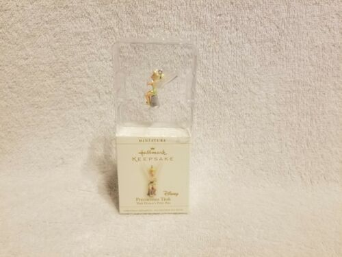 Tinker Bell Precious Tink Hallmark Keepsake miniature Ornaments in box 2006