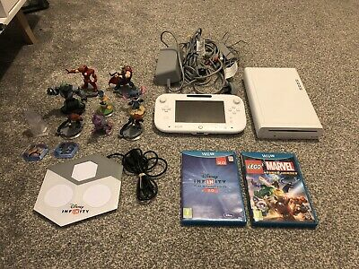 Nintendo Wii U Console 8gb + Games Bundle