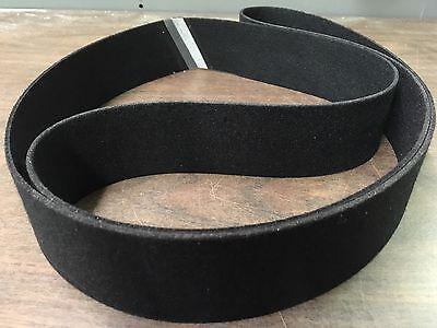 """2""""x 72"""" Sanding Belt Black Felt Polishing Belt"""