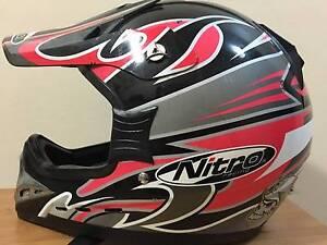 Nitro MX 410 Junior Motocross Helmet - Large North Parramatta Parramatta Area Preview