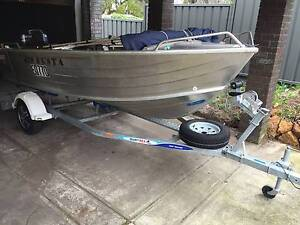 Quintrex Busta 420 Yamaha 30hp - 2012 Menora Stirling Area Preview