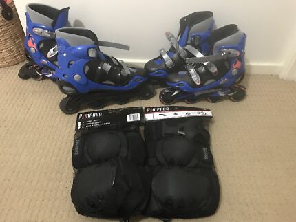 2 x Adult rollerblade sets excellent condition must go!