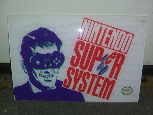 Nintendo Super System Arcade Marquee