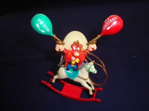Warner Bros. Looney Tunes Yosemite Sam Rocking Horse ornament