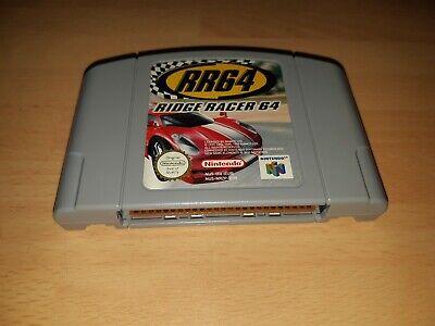 N64 Nintendo 64 Game RR64 Ridge Racer 64 - Cart Only - Good Condition - PAL VGC