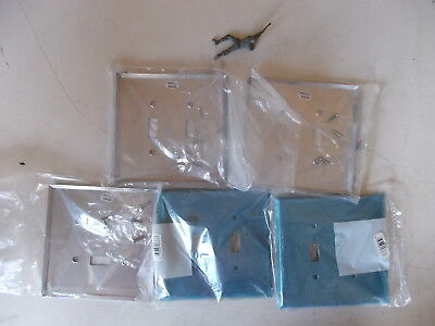 NEW Eagle 430SS Wall Plates, Lot of 5 *FREE SHIPPING* - 430 Ss Wall Plate